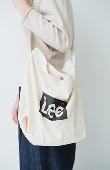 haco! Lady Lee ロゴワンショルダーバッグ <オフホワイト>の商品写真