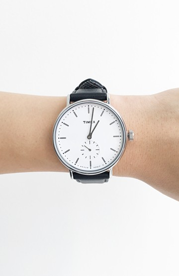haco! TIMEX FAIRFIELD SUB SECOND <ブラック>の商品写真