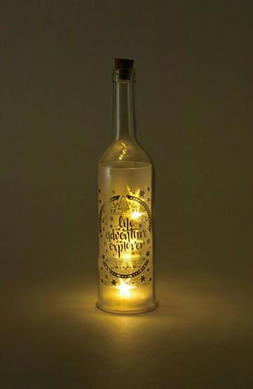 haco! スターライトLEDボトル <ゴールド>の商品写真
