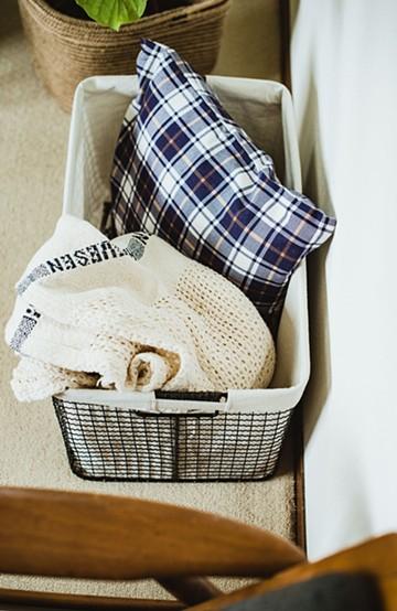 haco! トレリス・バスケット・ヨコ型(L) <ホワイト>の商品写真