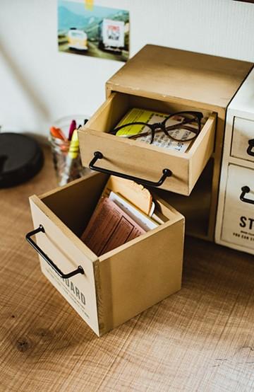 haco! スタンウッド・ミニチェスト <ナチュラル>の商品写真