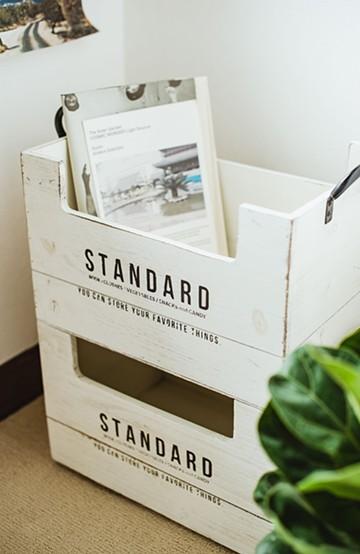 haco! スタンウッド・スタッキングボックス・L <ホワイト>の商品写真