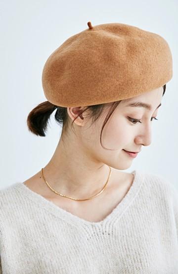 haco! バスクベレー帽 <キャメル>の商品写真