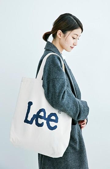 haco! Lee 西日本別注 ロゴトート <ネイビー>の商品写真