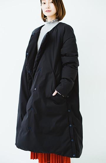 haco! F/CE.(エフシーイー)LONG DOWN COAT for WOMEN'S <ネイビー>の商品写真
