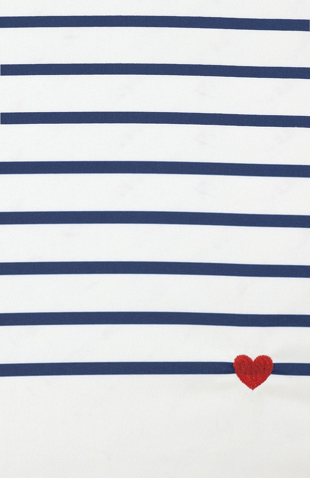 haco! w.p.c  ハート刺繍ボーダーmini <ホワイト系その他>の商品写真2