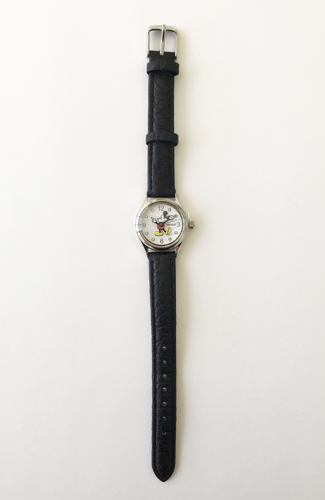haco! INGERSOLL Disney MICKEY WATCH <ブラック>の商品写真2