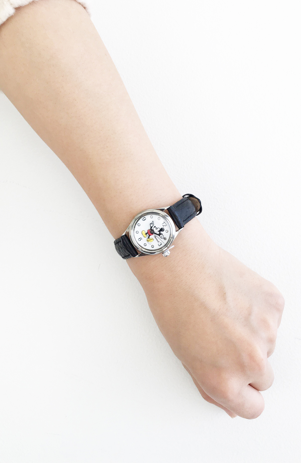 haco! INGERSOLL Disney MICKEY WATCH <ブラック>の商品写真7