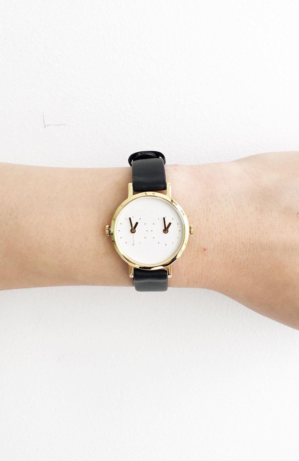 haco! STEVEN ALAN TIME TRAVELER 腕時計 <ブラック>の商品写真3