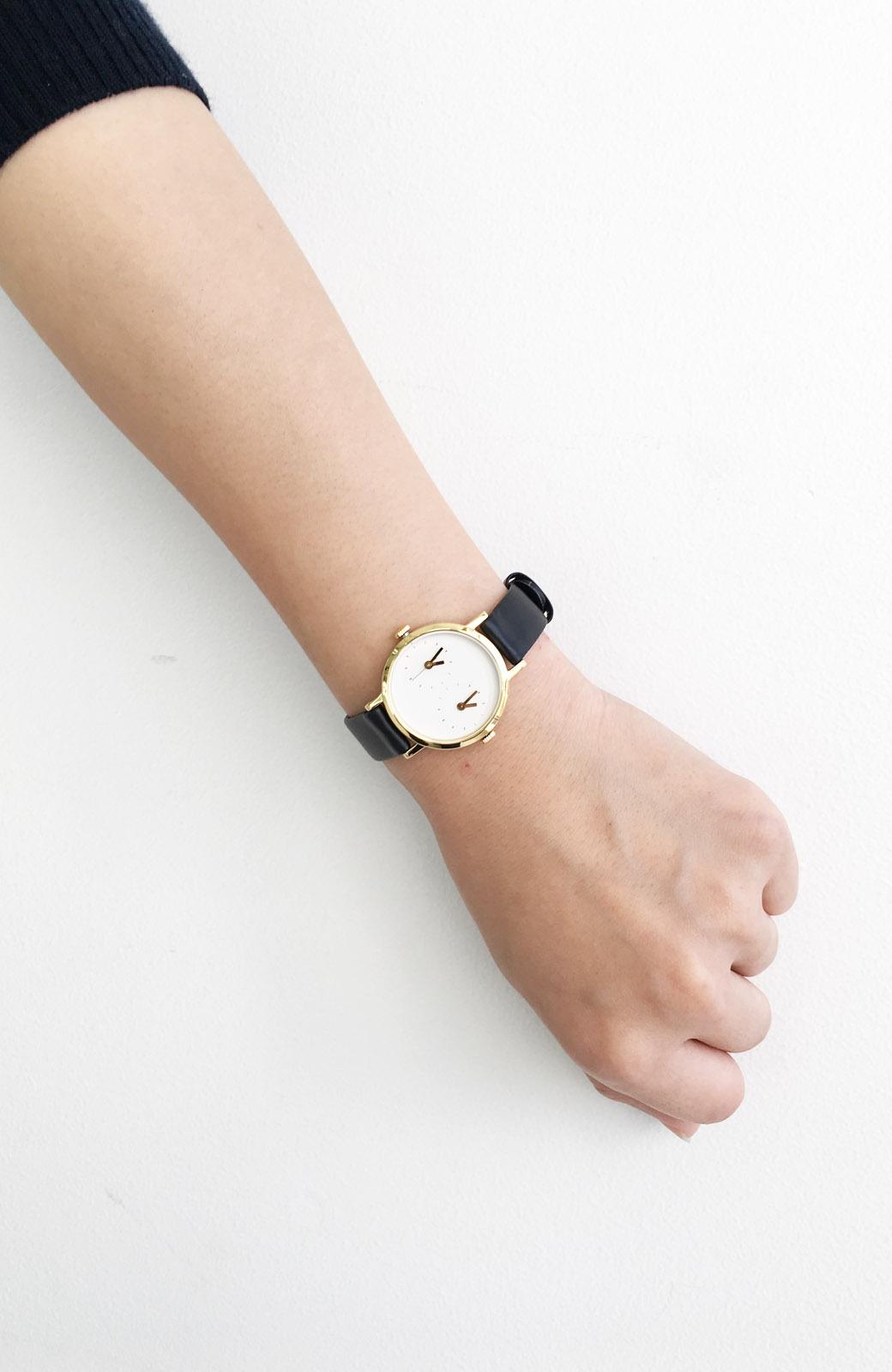 haco! STEVEN ALAN TIME TRAVELER 腕時計 <ブラック>の商品写真4