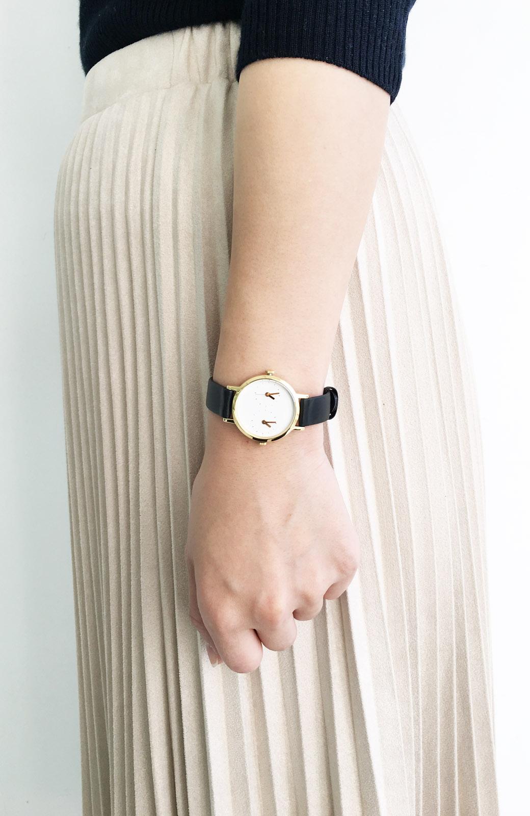 haco! STEVEN ALAN TIME TRAVELER 腕時計 <ブラック>の商品写真5