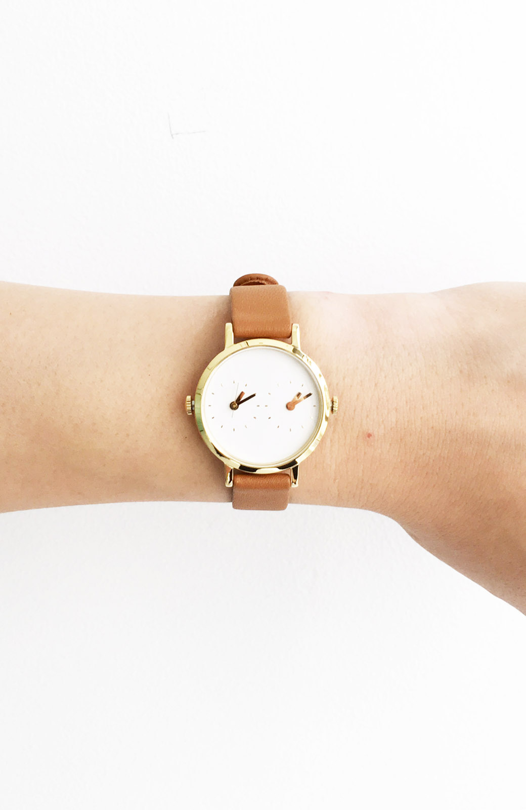 haco! STEVEN ALAN TIME TRAVELER 腕時計 <ブラウン>の商品写真3