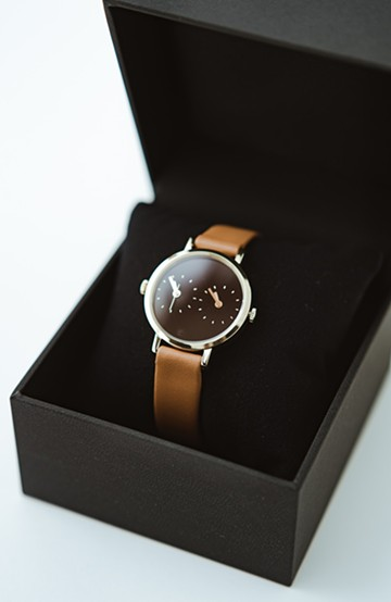 haco! STEVEN ALAN TIME TRAVELER 腕時計 <ブラウン系その他>の商品写真