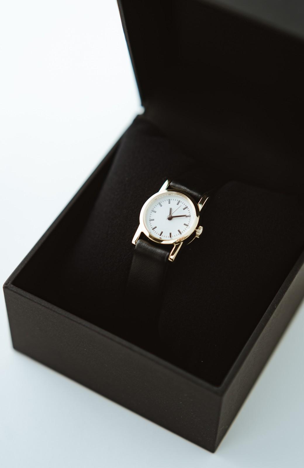 haco! STEVEN ALAN MINI 腕時計 <ブラック>の商品写真1