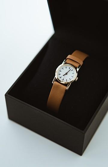 haco! STEVEN ALAN MINI 腕時計 <ブラウン>の商品写真