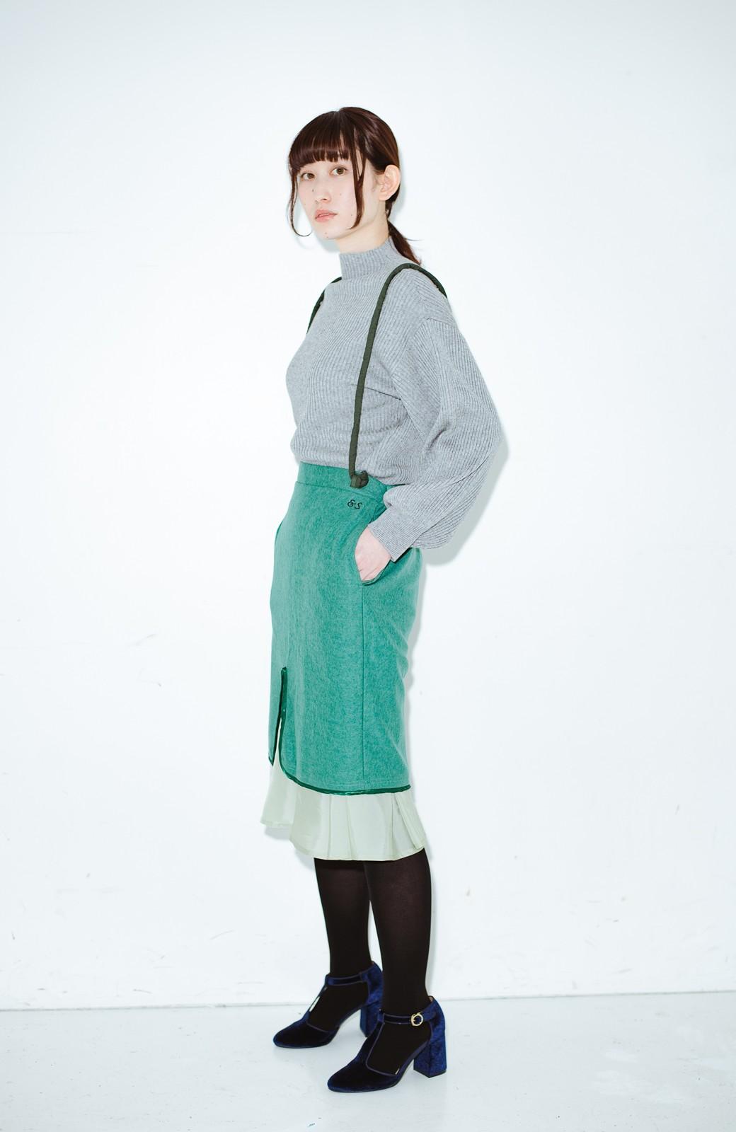 haco! co&tion RERE丸ひものグリーンスカート【アーティスト監修10点もの】 <グリーン>の商品写真9