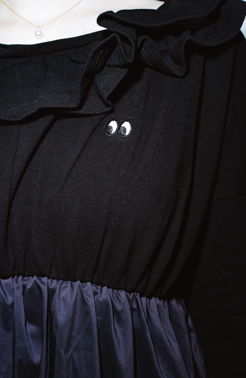 haco! co&tion POTTO目玉ワンピース【アーティスト監修10点もの】 <ブラック>の商品写真2