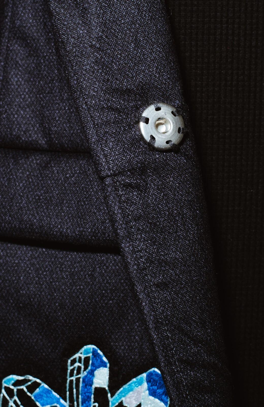 haco! co&tion 二宮佐和子Unicorn&Crystal Coat【アーティスト監修10点もの】 <ブラック>の商品写真2