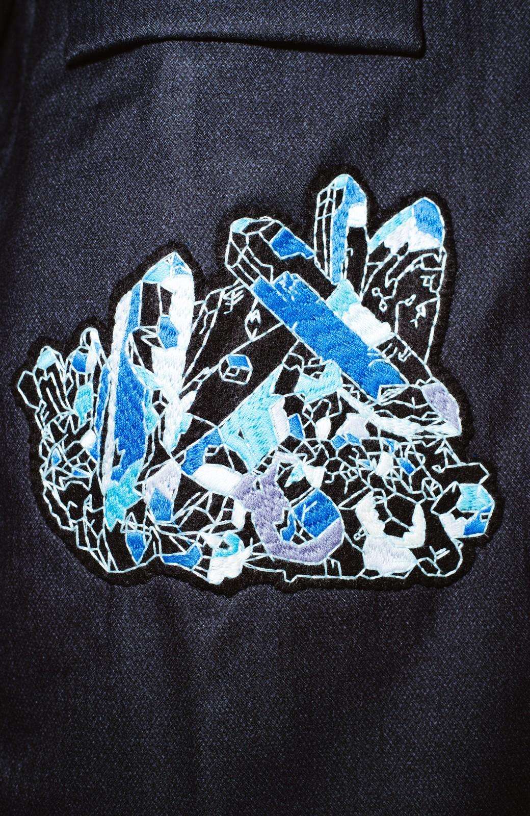 haco! co&tion 二宮佐和子Unicorn&Crystal Coat【アーティスト監修10点もの】 <ブラック>の商品写真4