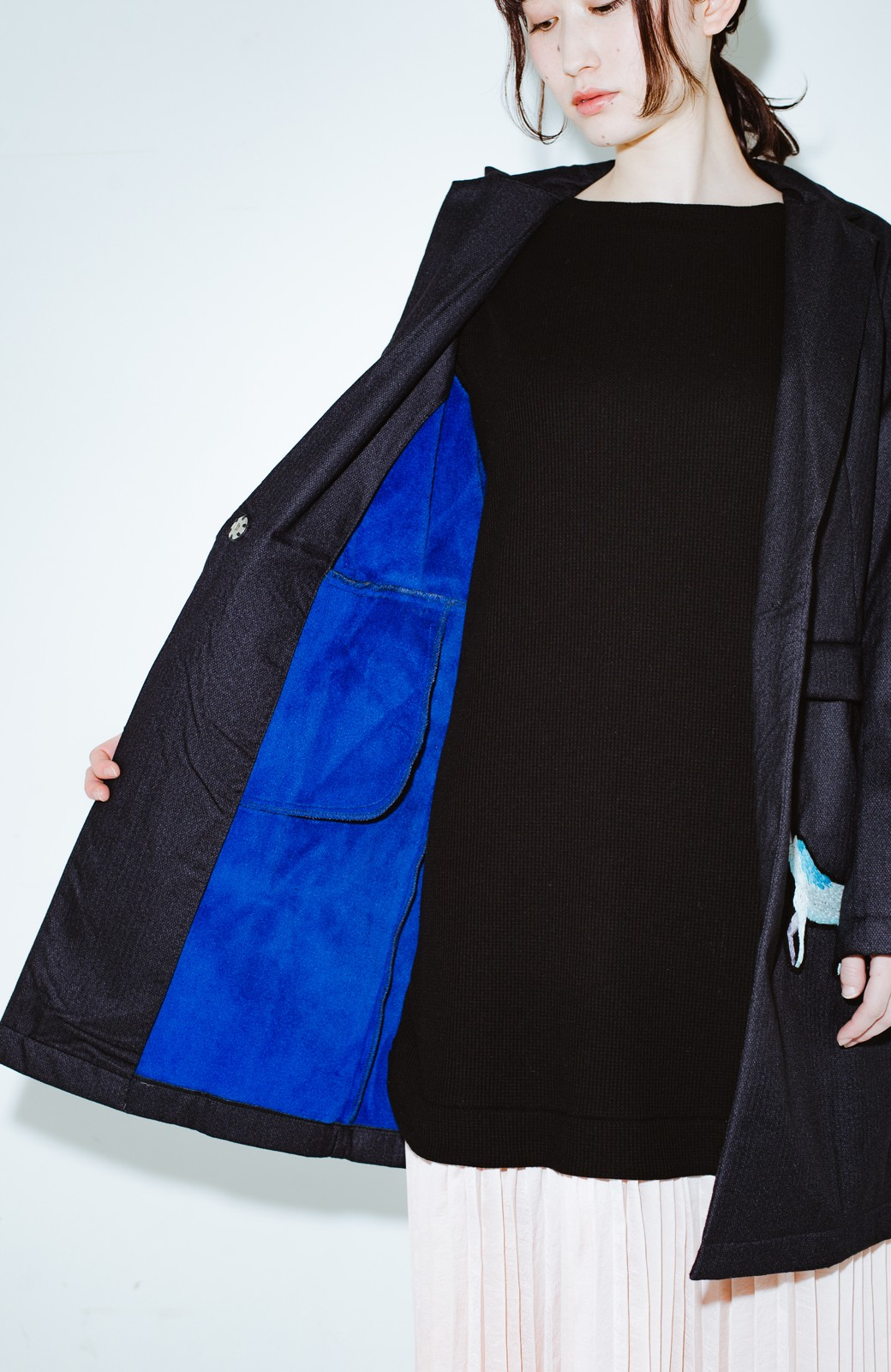 haco! co&tion 二宮佐和子Unicorn&Crystal Coat【アーティスト監修10点もの】 <ブラック>の商品写真9