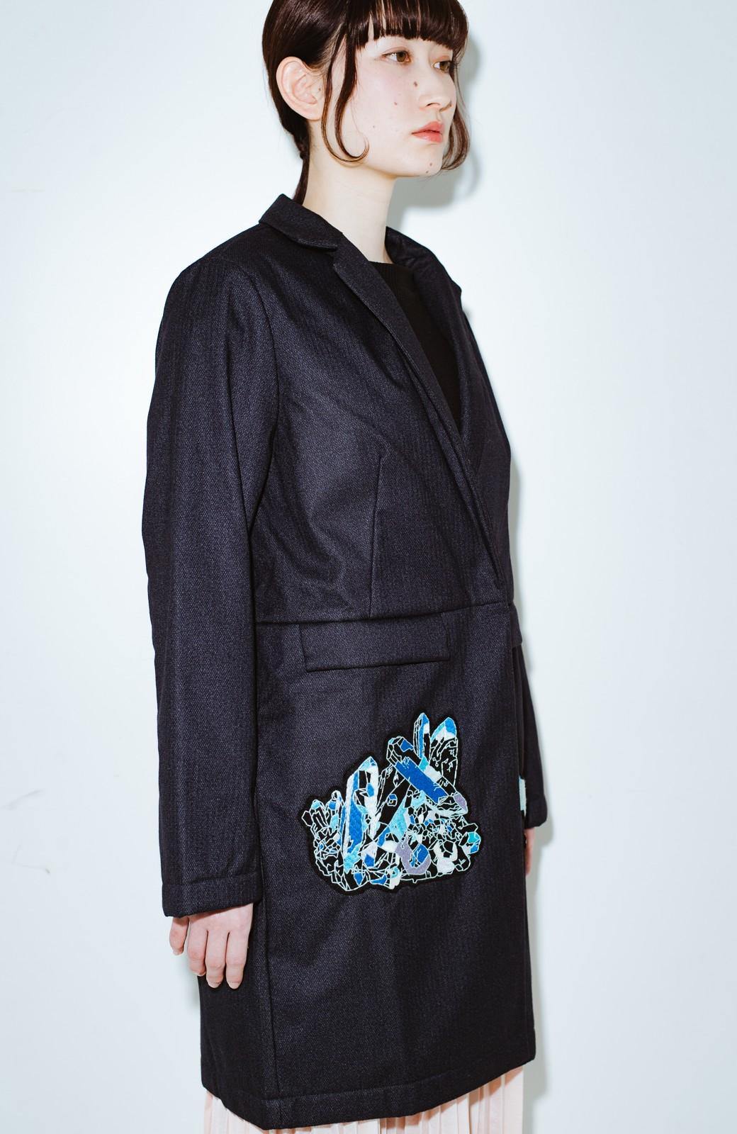 haco! co&tion 二宮佐和子Unicorn&Crystal Coat【アーティスト監修10点もの】 <ブラック>の商品写真11