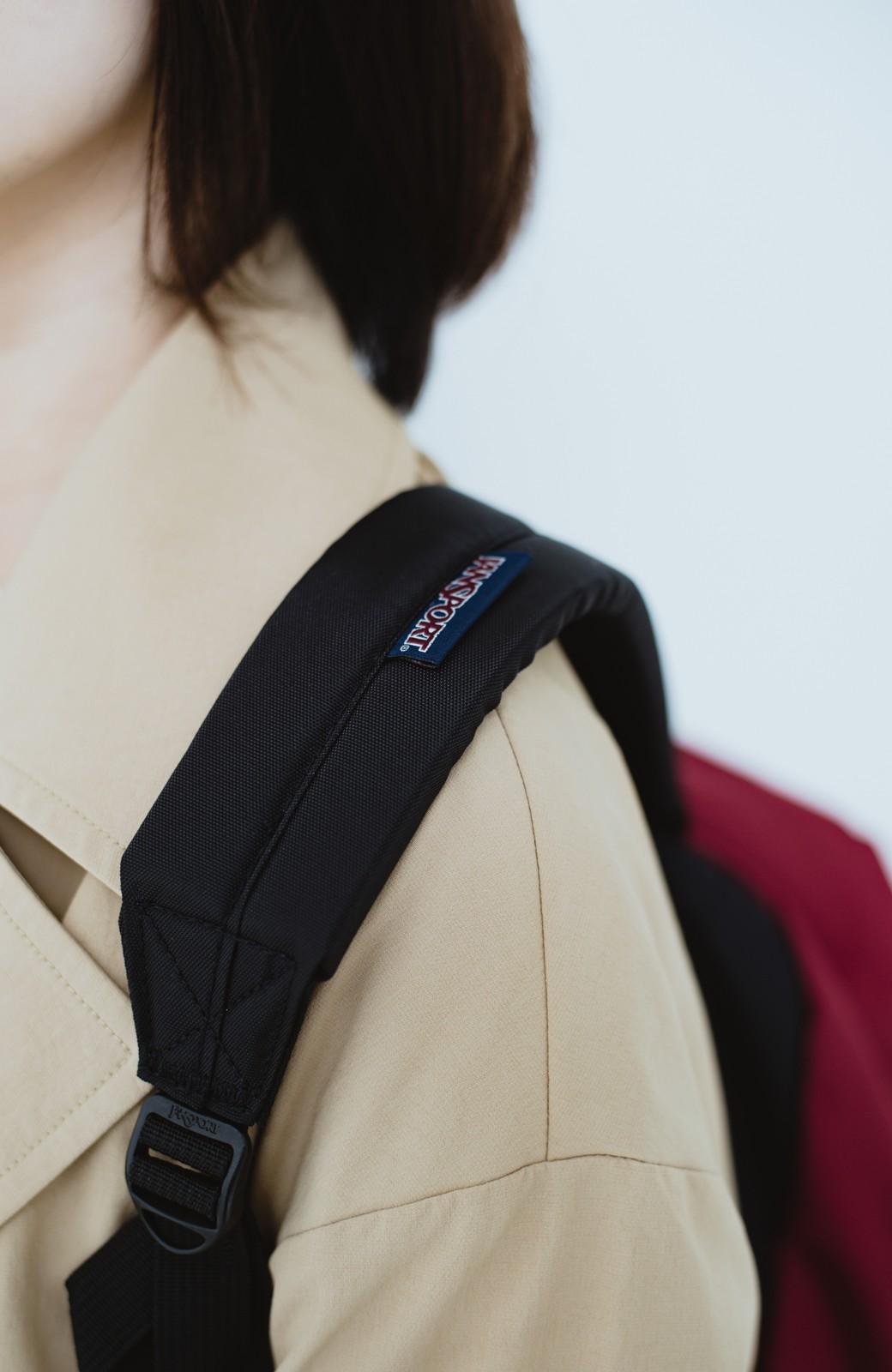 haco! 【新色追加】JANSPORT SUPERBREAK リュック <ワインレッド>の商品写真2