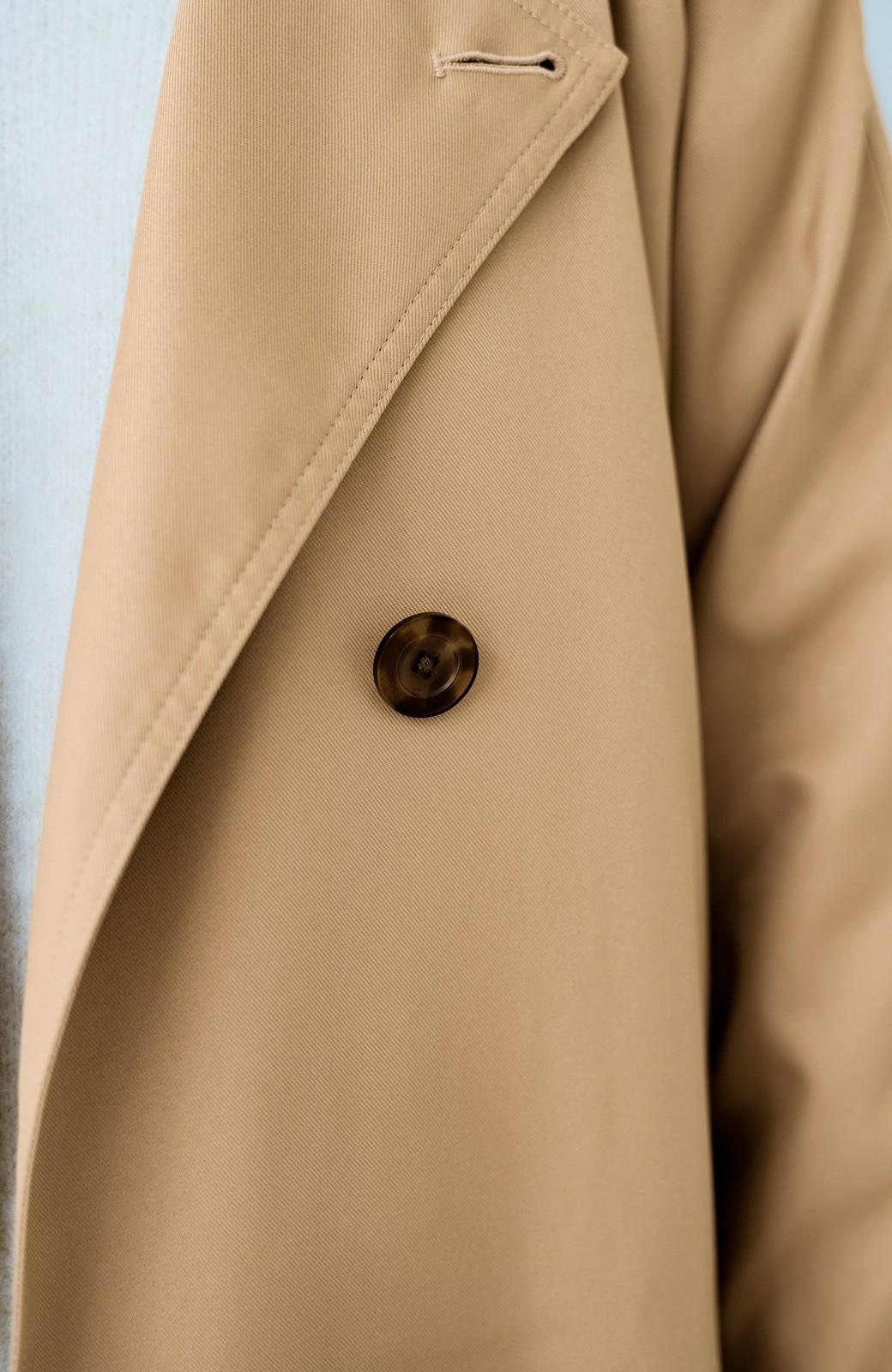 haco! これさえ着ておけば間違いない ゆったり袖のトレンチコート <ベージュ>の商品写真4