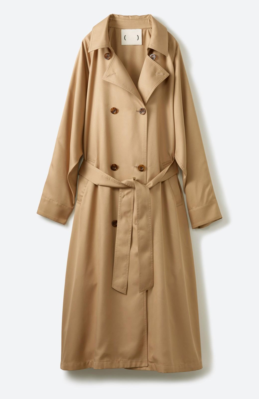 haco! これさえ着ておけば間違いない ゆったり袖のトレンチコート <ベージュ>の商品写真2