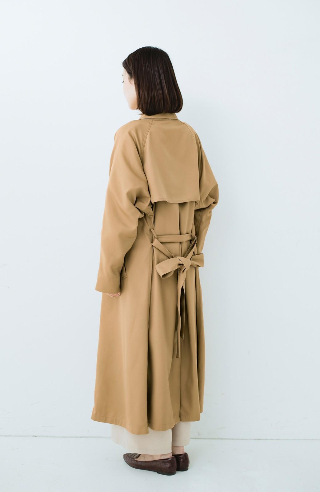 haco! これさえ着ておけば間違いない ゆったり袖のトレンチコート <ベージュ>の商品写真14