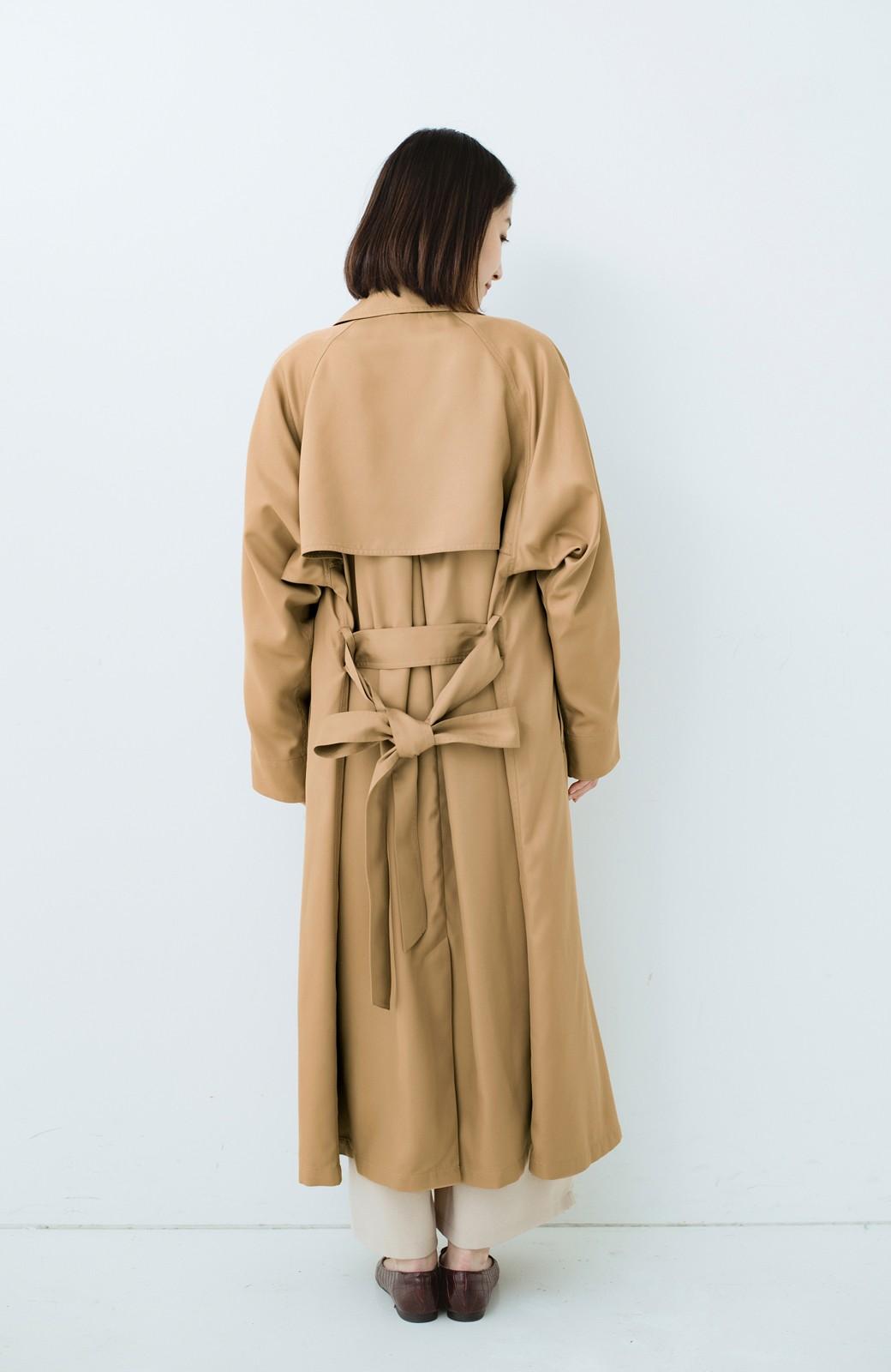 haco! これさえ着ておけば間違いない ゆったり袖のトレンチコート <ベージュ>の商品写真15