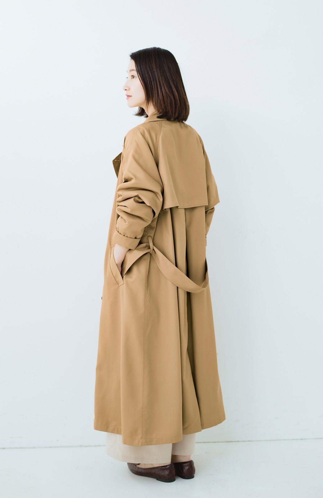 haco! これさえ着ておけば間違いない ゆったり袖のトレンチコート <ベージュ>の商品写真16