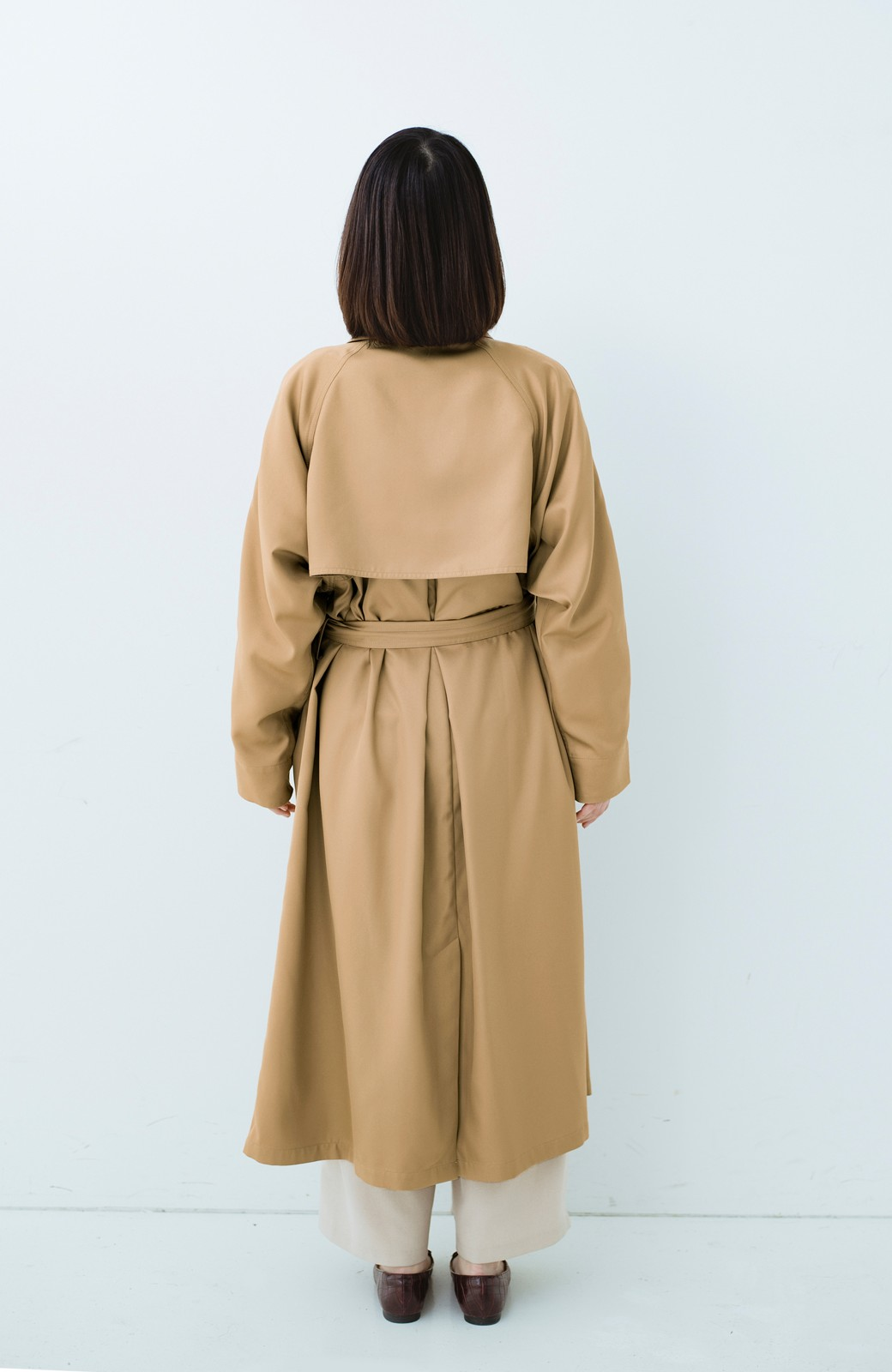 haco! これさえ着ておけば間違いない ゆったり袖のトレンチコート <ベージュ>の商品写真17