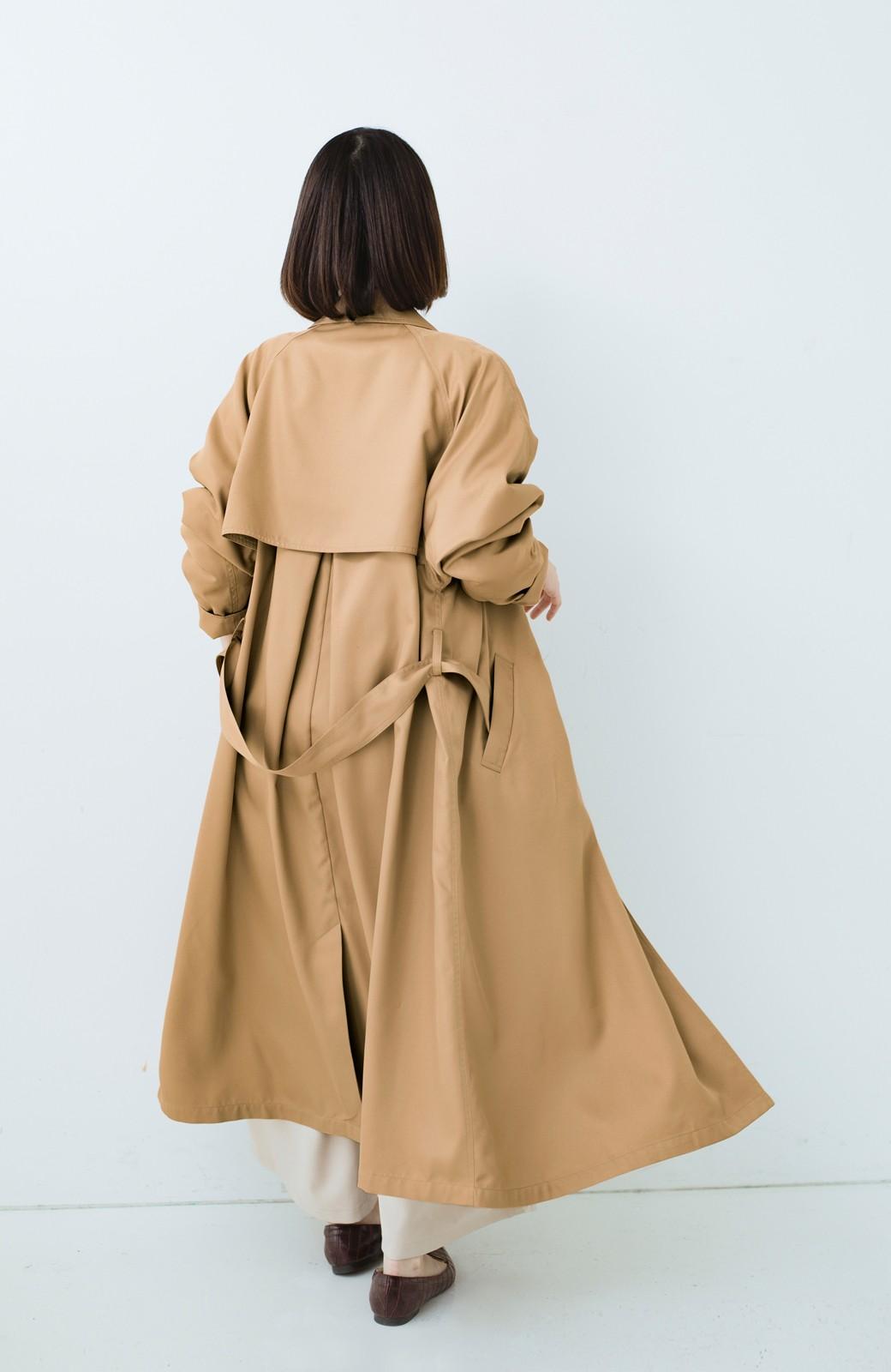 haco! これさえ着ておけば間違いない ゆったり袖のトレンチコート <ベージュ>の商品写真18
