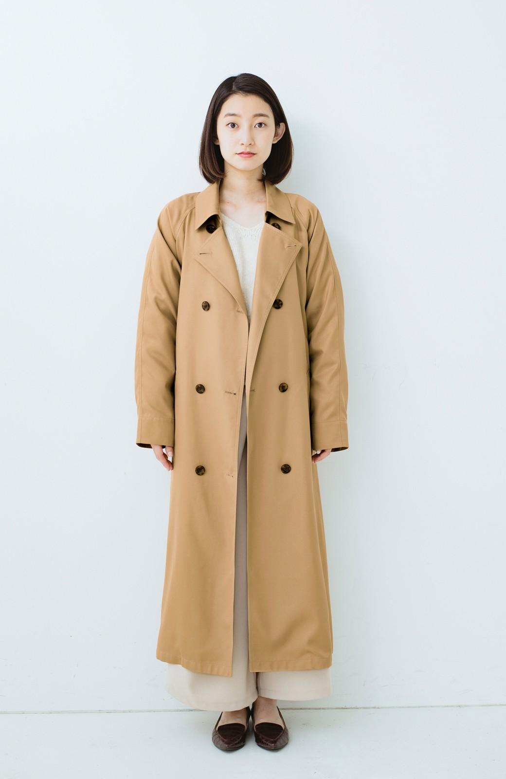 haco! これさえ着ておけば間違いない ゆったり袖のトレンチコート <ベージュ>の商品写真7