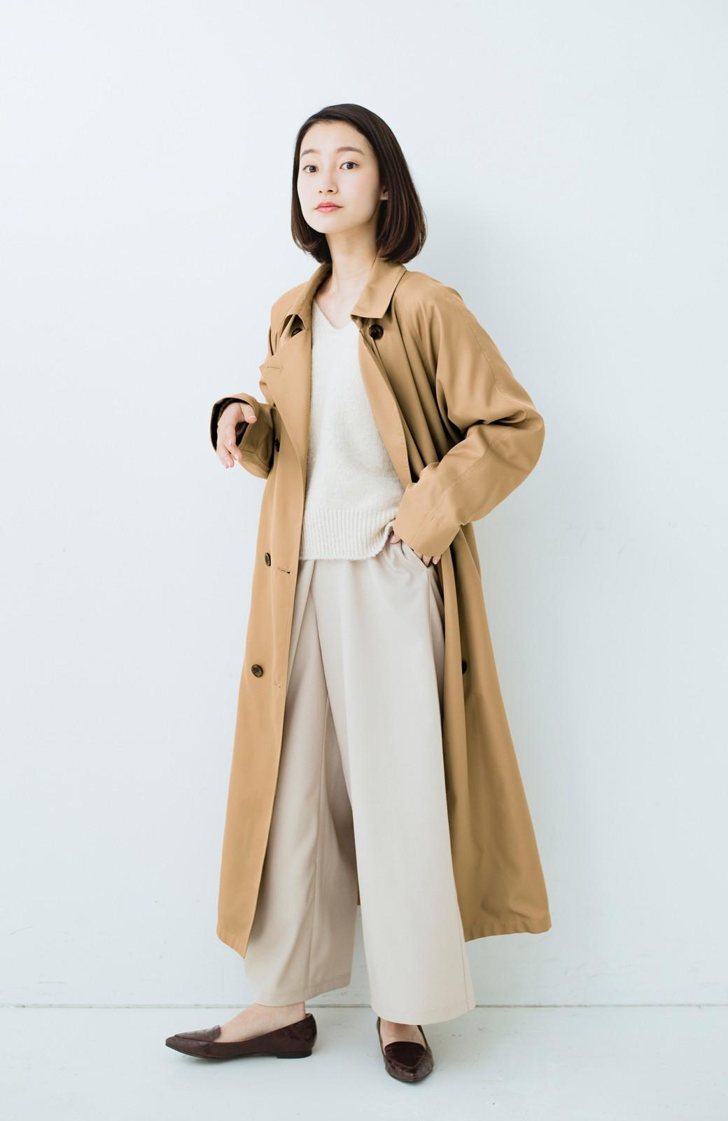 haco! これさえ着ておけば間違いない ゆったり袖のトレンチコート <ベージュ>の商品写真8