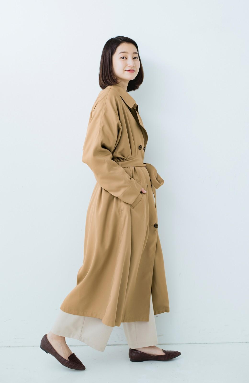 haco! これさえ着ておけば間違いない ゆったり袖のトレンチコート <ベージュ>の商品写真13