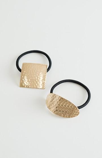 haco! 大人っぽい幾何学ヘアーアクセセット <ゴールド>の商品写真