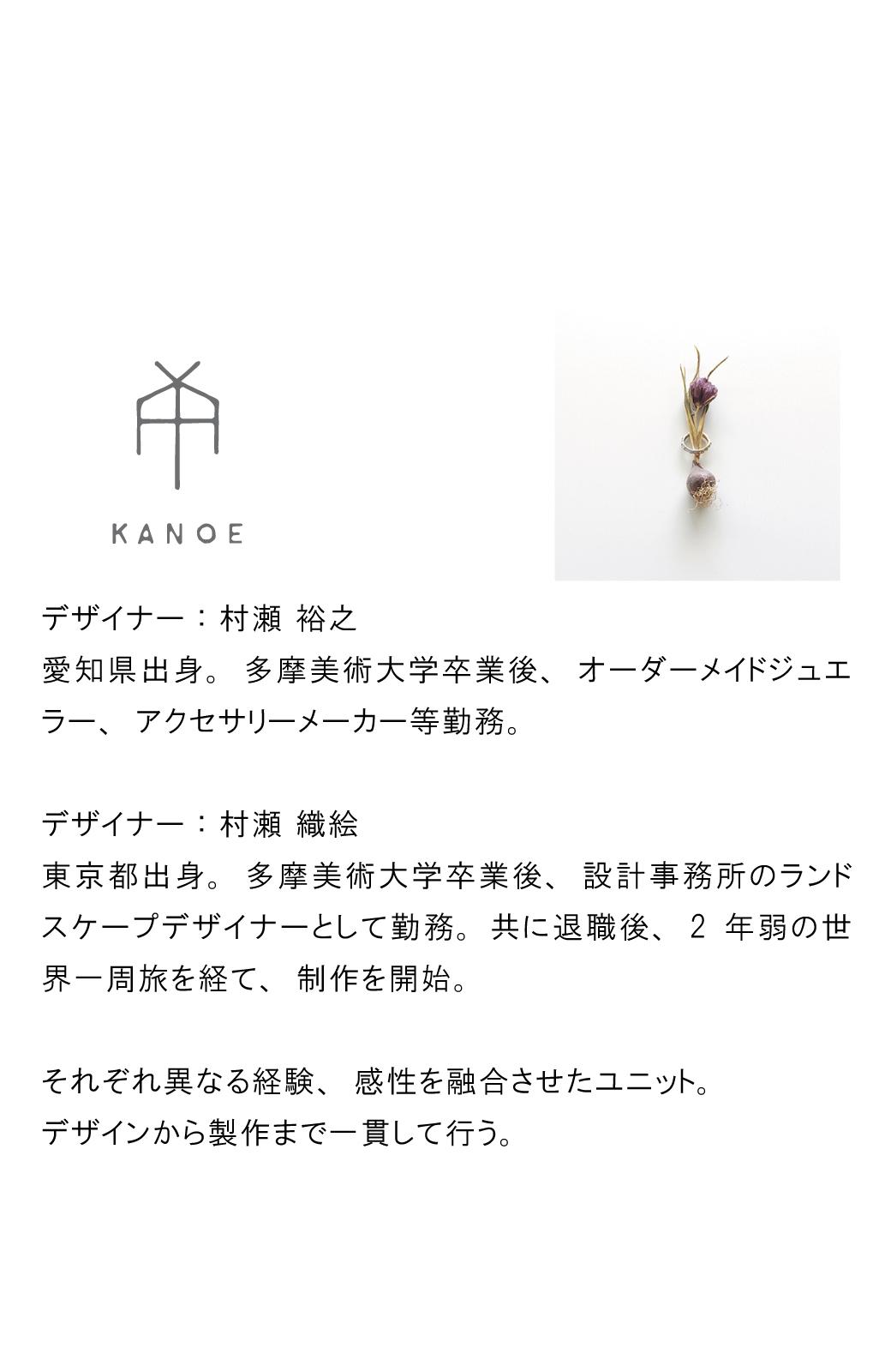 haco! てとひとて KANOE ジンジャーフックピアス <ブロンズ>の商品写真7