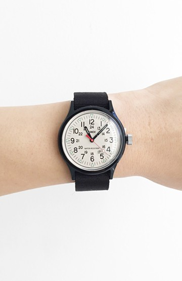 haco! TIMEX Original Camper Japan Exclusive <ブラック>の商品写真