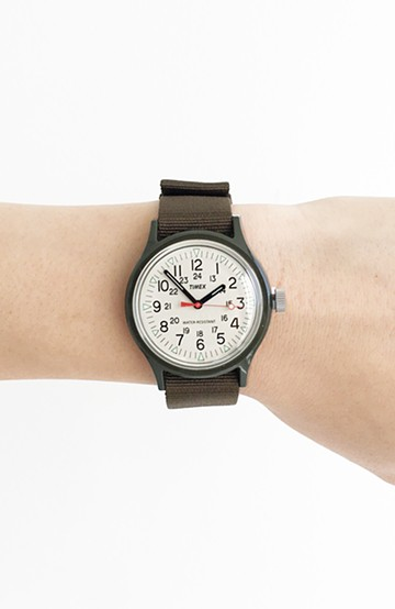 haco! TIMEX Original Camper Japan Exclusive <オリーブ>の商品写真
