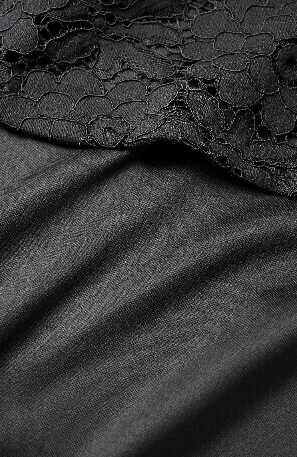 haco! ルンとした気分になる 華やかレースブラウス&タンクトップセット <ブラック>の商品写真4
