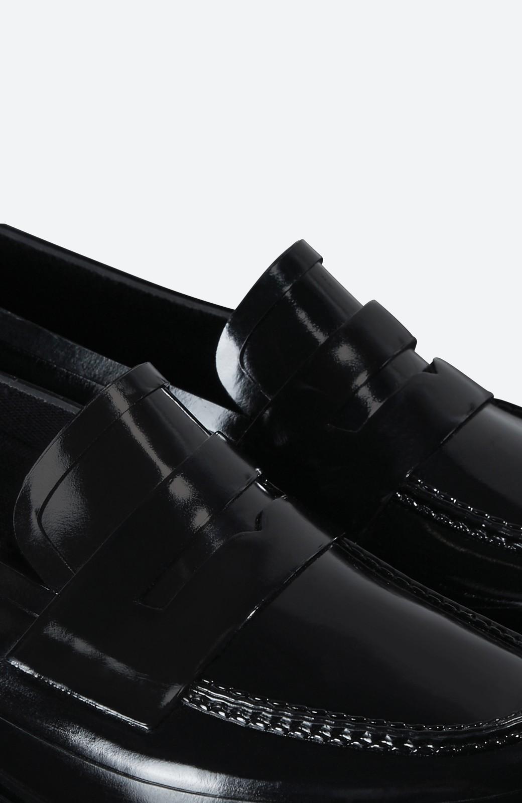 haco! HUNTER オリジナル ペニーローファー <ブラック>の商品写真6