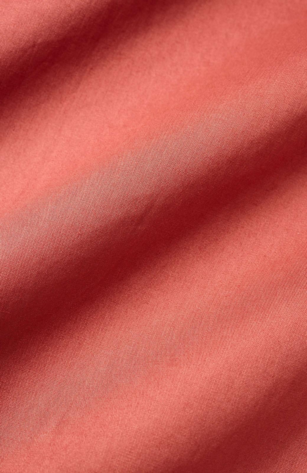 haco! 羽織りにもなって着回しのきくサッシュベルト付きシャツワンピース <ピンク>の商品写真6