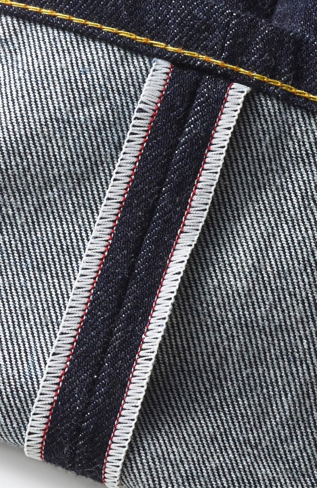 haco! MADE IN JAPAN 匠のハイウエストフェミニンデニム <インディゴブルー>の商品写真2