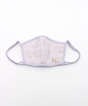 haco! i.c.スペシャルWACフィルターが入れられるポケット付きマスク子供用 <ライトパープル>の商品写真