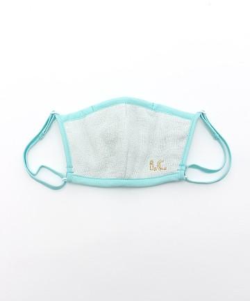haco! i.c.スペシャルWACフィルターが入れられるポケット付きマスク子供用 <スカイブルー>の商品写真