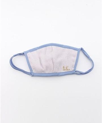 haco! i.c.スペシャルWACフィルターが入れられるポケット付きマスク子供用 <ブルー系その他>の商品写真