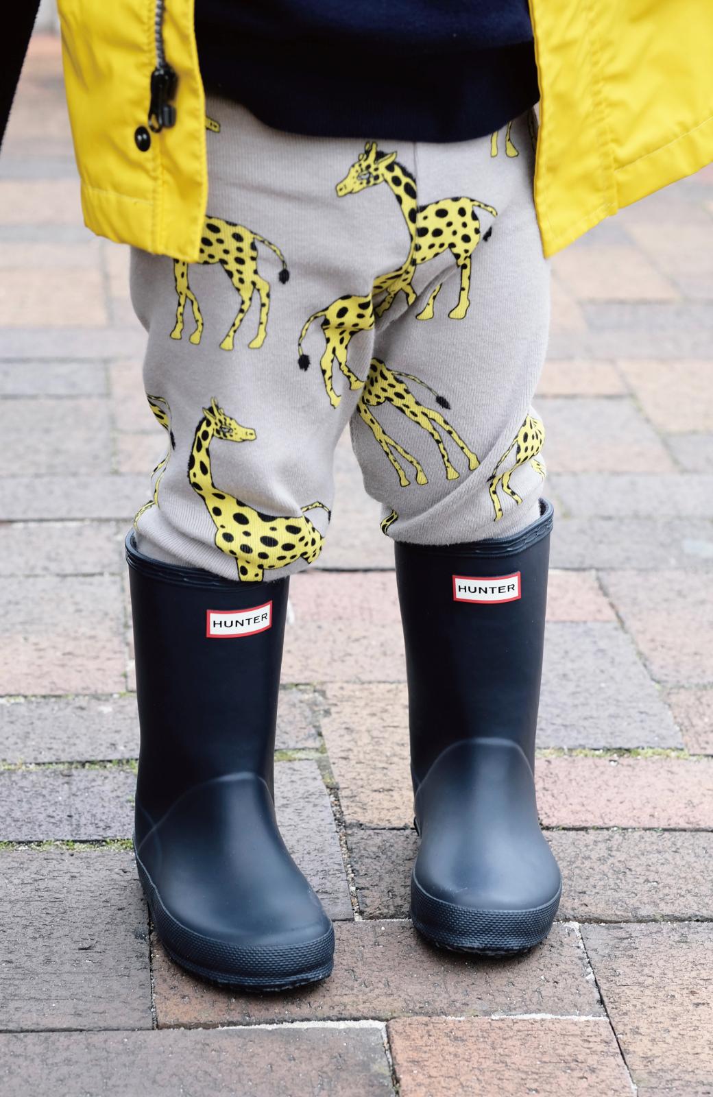 haco! HUNTER KIDS ファーストクラシック <ネイビー>の商品写真4