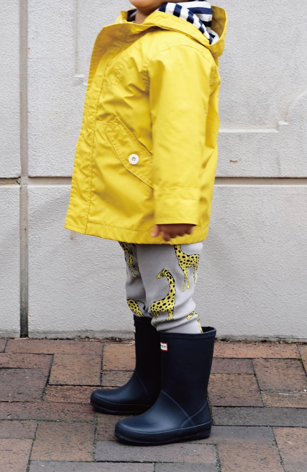 haco! HUNTER KIDS ファーストクラシック <ネイビー>の商品写真5