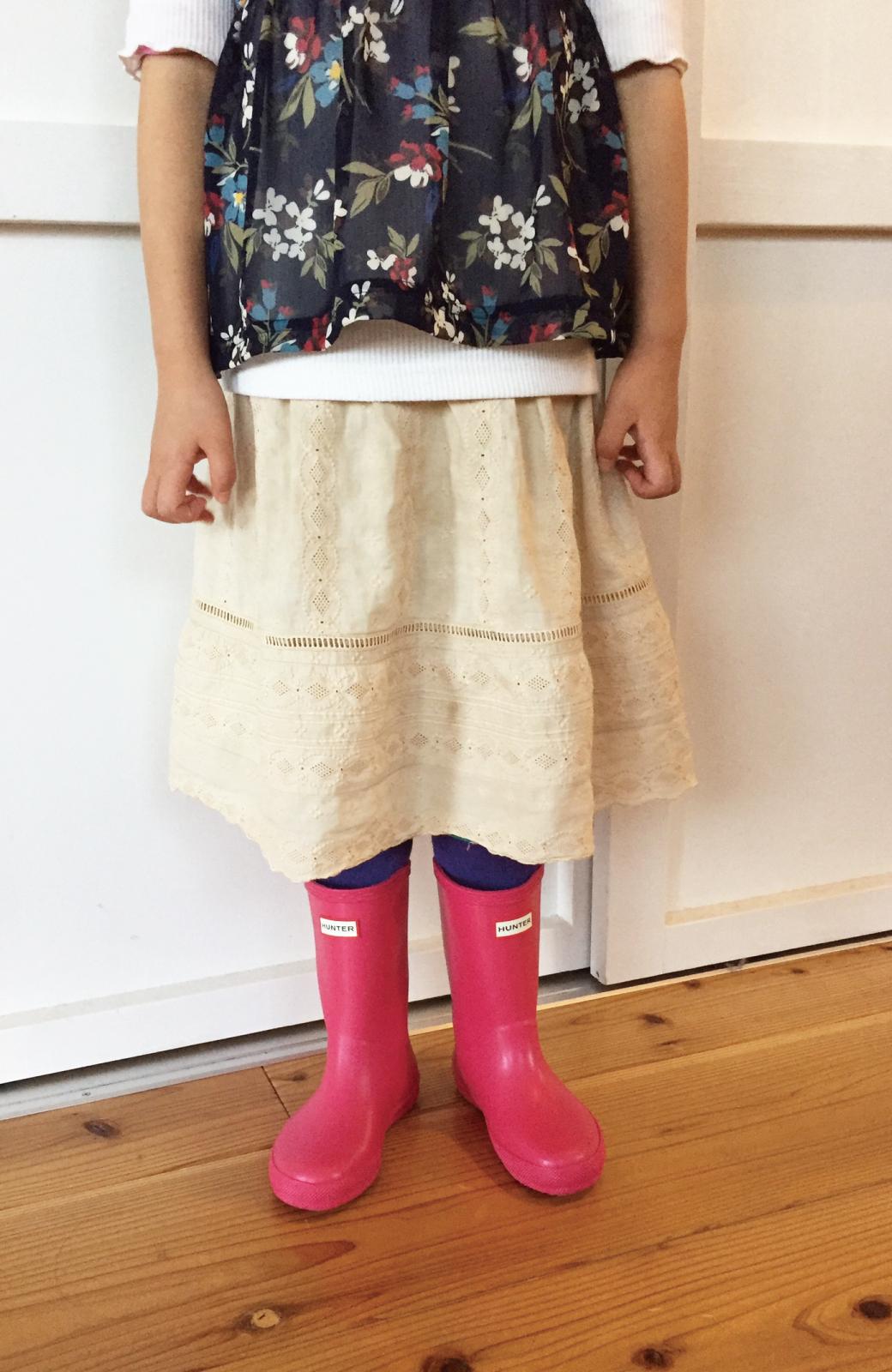 haco! HUNTER KIDS ファーストクラシック <ピンク>の商品写真3